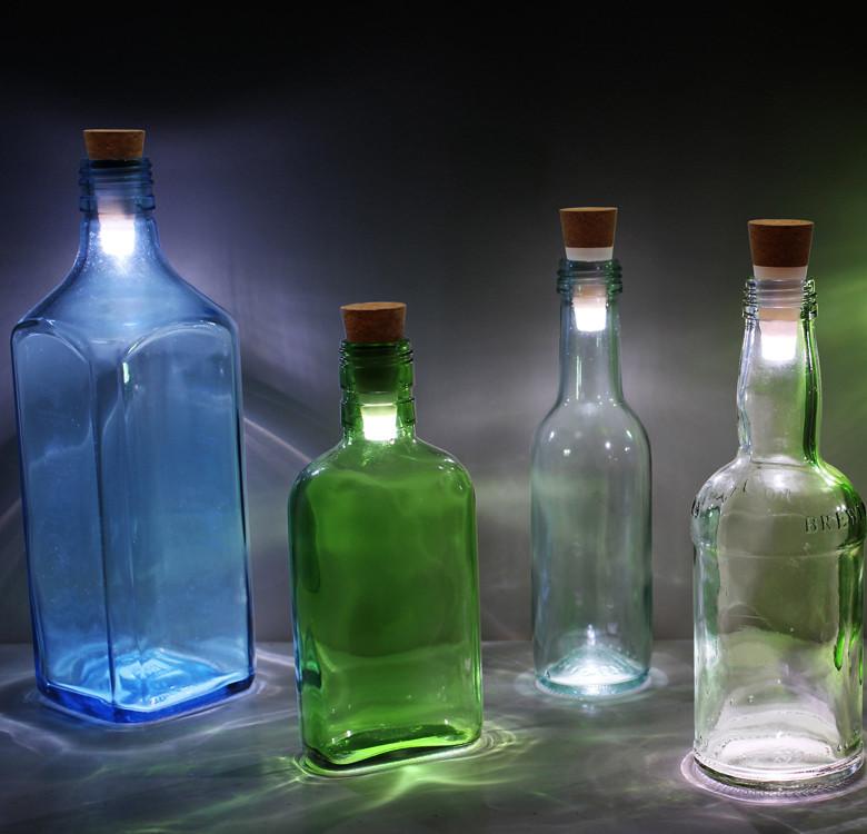 Rechargeable Bottle Light