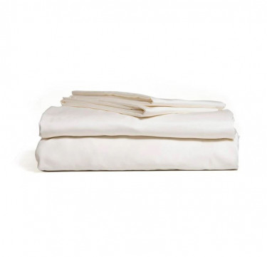 4-Piece Bamboo Luxury Sheet Set (Ivory)