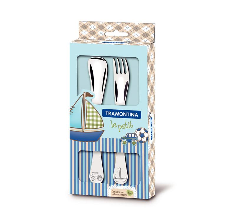Le Petit 2-Piece Child's Cutlery Set