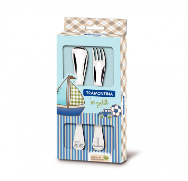 Le Petit 2-Piece Child's Cutlery Set