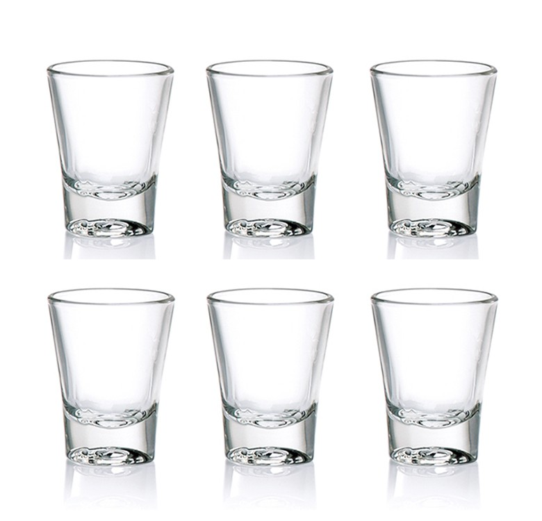 Ocean Glassware Solo Shot Glass 2 Oz. Set of 6