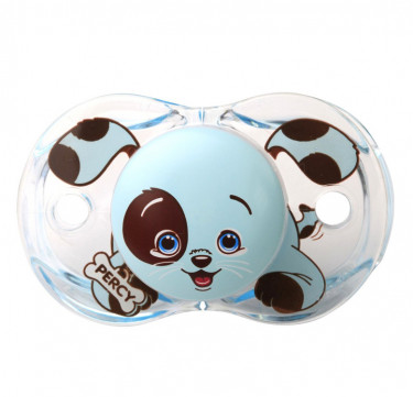 Keep-it-Klean Pacifier - Percy Blue Puppy