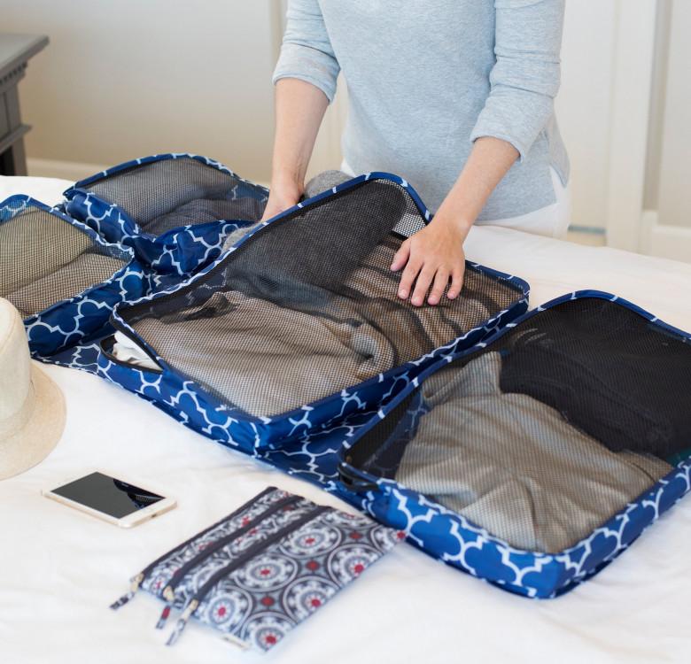 Garment Travel Organizer (Navy Downing)