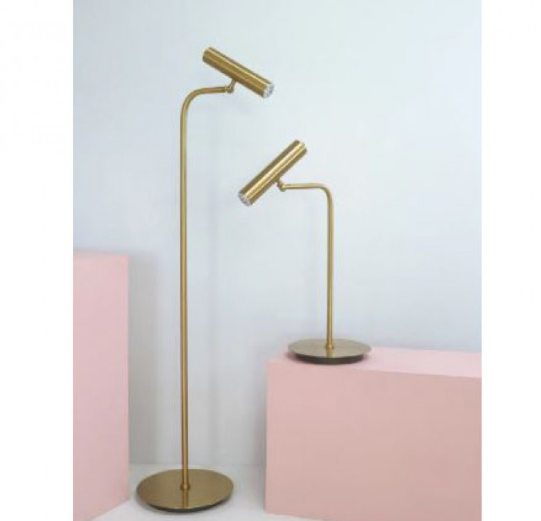 Cygnus Brass Modern Table Lamp
