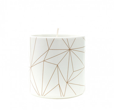 Milky Way Filled Candle in Morgen Cup