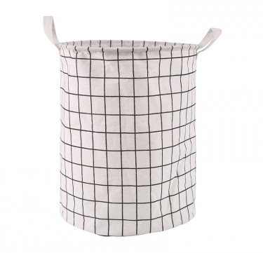 Foldable Storage Bin (Plaid)