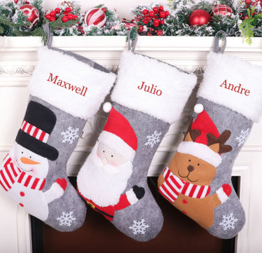 Personalized Holiday Icon Stockings