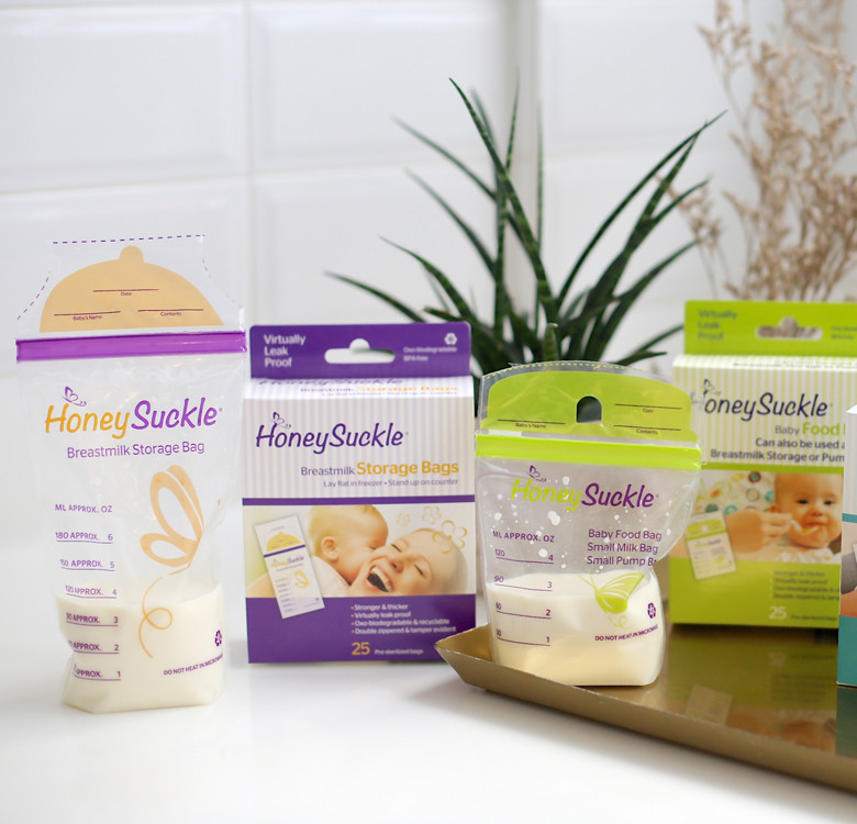 Breast Milk Storage Bags 6-oz