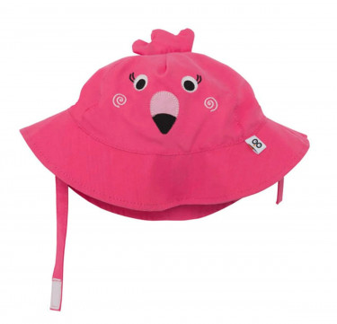 UPF50+ Baby Sun Hat - Franny the Flamingo