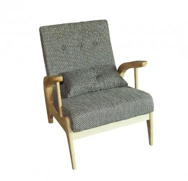 Ash Wood Lounge Chair