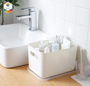 Shimoyama Handled Storage Box with Lid (Medium)