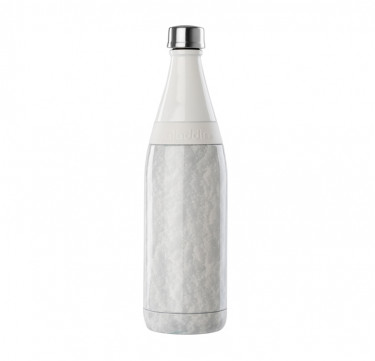 Aladdin Earthscapes™ Fresco Twist & Go Vacuum Water Bottle, 20oz (Snow)