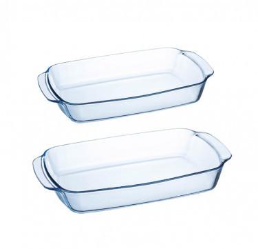 Multi-One 2-Piece Large Rectangular Dish Set
