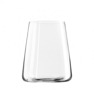 Power Red Wine Tumbler Lead-Free Glass Set of 6