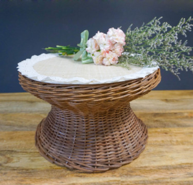 Wicker Cake Stand - Discontinued