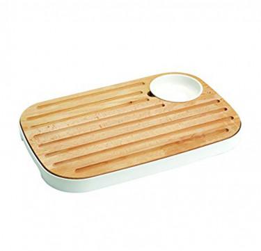 Slice & Serve Bread and Cheese Board