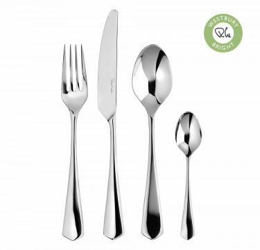 Westbury Bright Cutlery Set, 24 Piece for 6 People