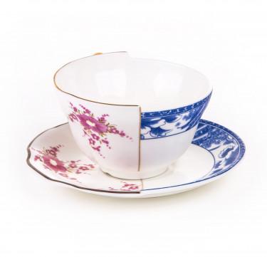 Hybrid Zenobia Teacup with Saucer