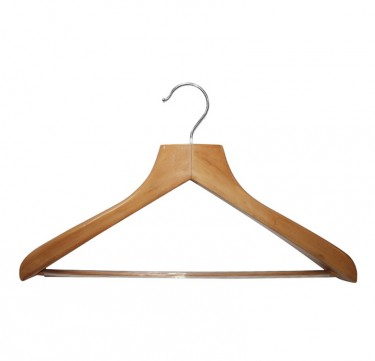 2.5CM Natural Coat Hangers Set of 10