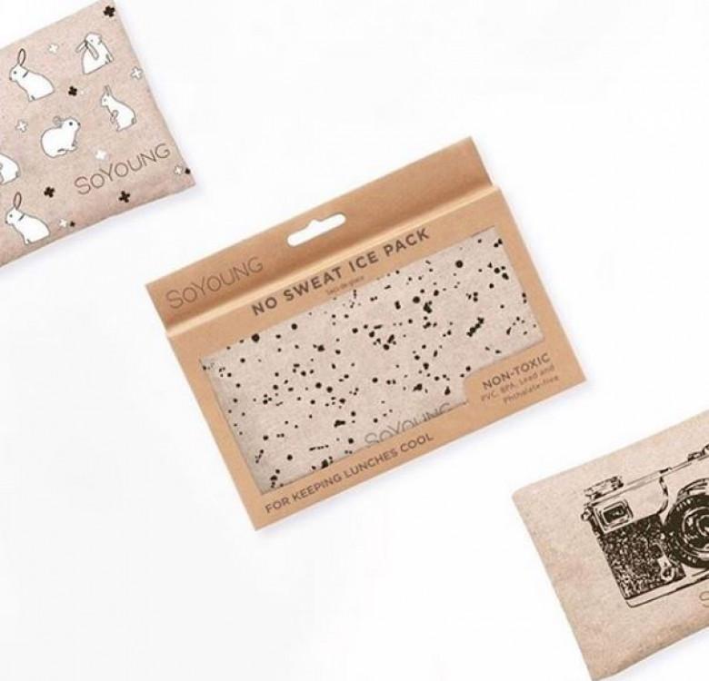 Sweat-proof Ice Pack (Splatter)