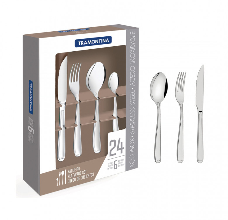 Copacabana 24-Piece Flatware Set