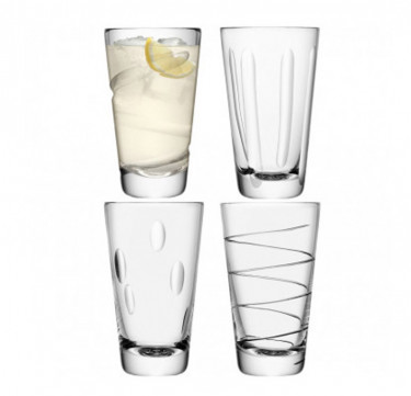 Charleston Highball Set of 4