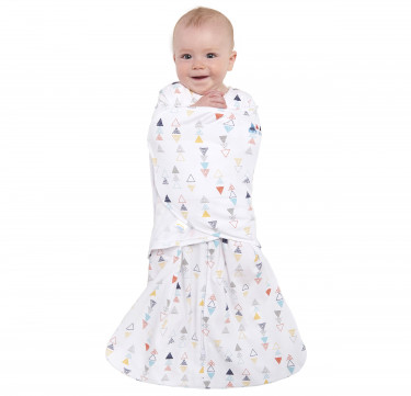 Swaddle Multi Color Triangle