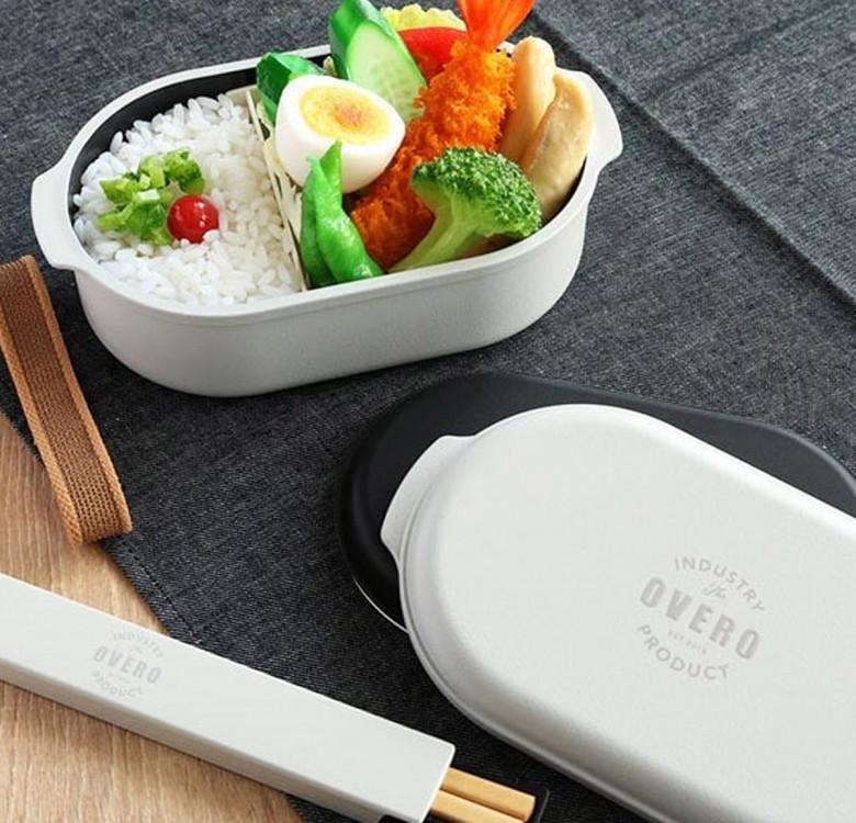 Overo Wide Bento Box (2-layers)