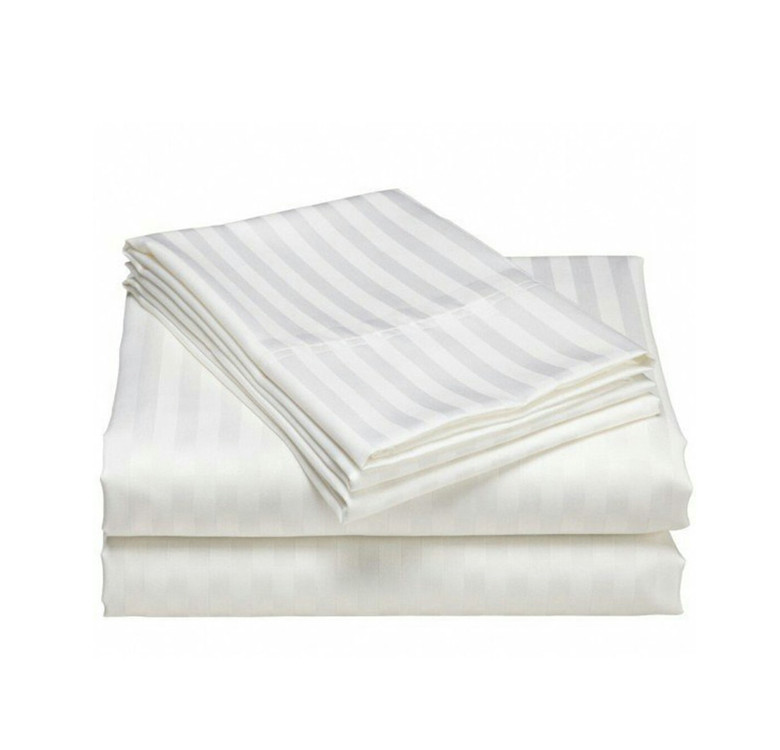 4-Piece Hotel Stripes Duvet Set