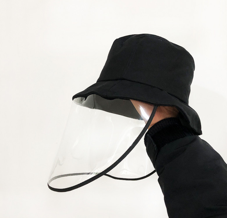 Adult Bucket Hat with Face Shield