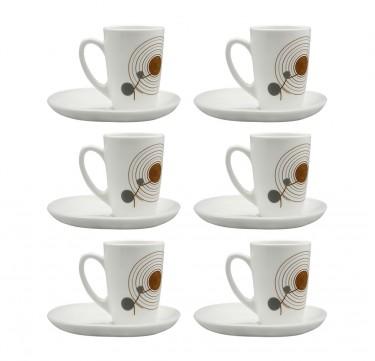 Sequins 7oz Cup & 14cm Saucer Set