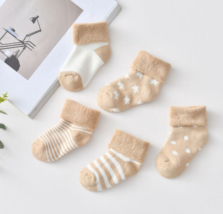 Little Wheat Bo Peep Socks (Set of 5)