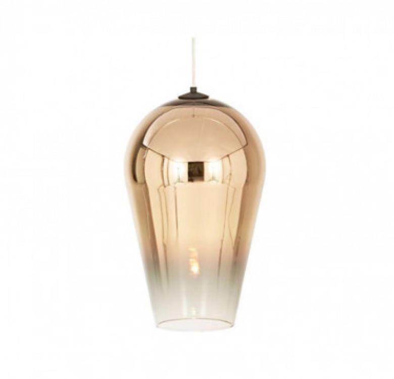 Adra Gold Faded Glass Pendant Light