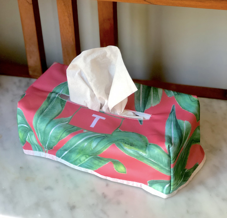 Personalized Tissue Box (Designs Available)