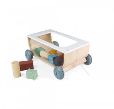 Sweet Cocoon Cart With Blocks