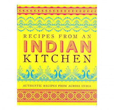 """""""Recipes From an Indian Kitchen"""" Hardcover Cookbook"""