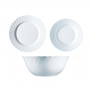 Trianon 13-Piece Dinner Set White