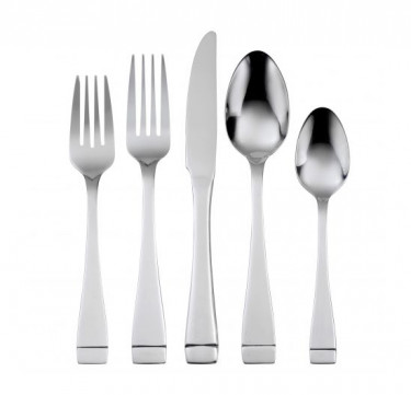 Mercer II 20-Piece Everyday Flatware Set Service for 4