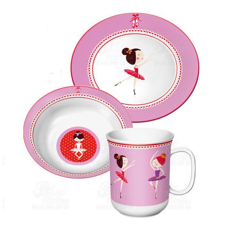 7-Piece Ballerina Children's Cutlery Set