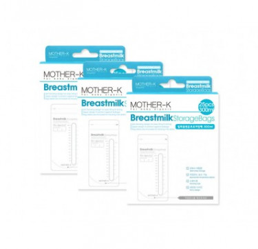 Breastmilk Storage Bags 300ml Bundle of 3