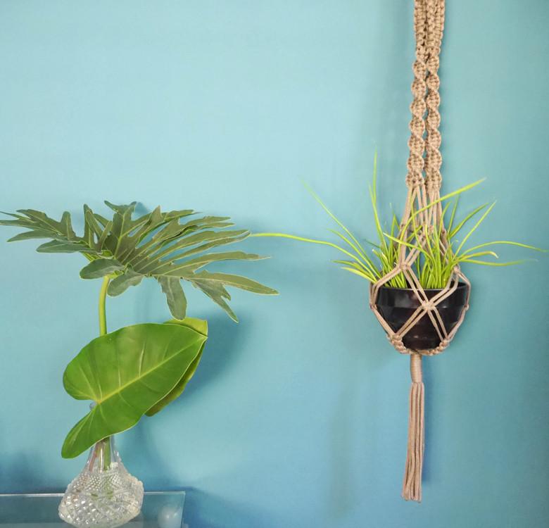 Hanging Macrame Planter