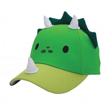 UPF50 Toddler/Kids 3D Cap - Dino