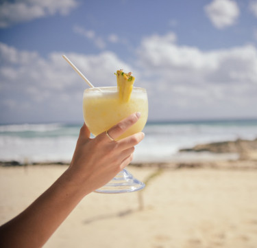 Happy Hour at the Beach