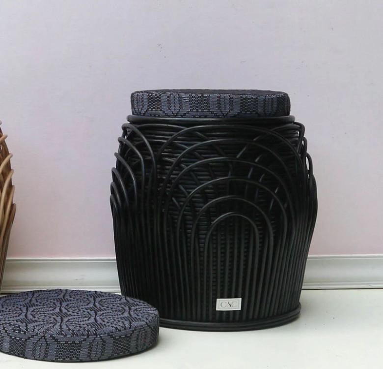 Alon Barrel with Inabel Cushion