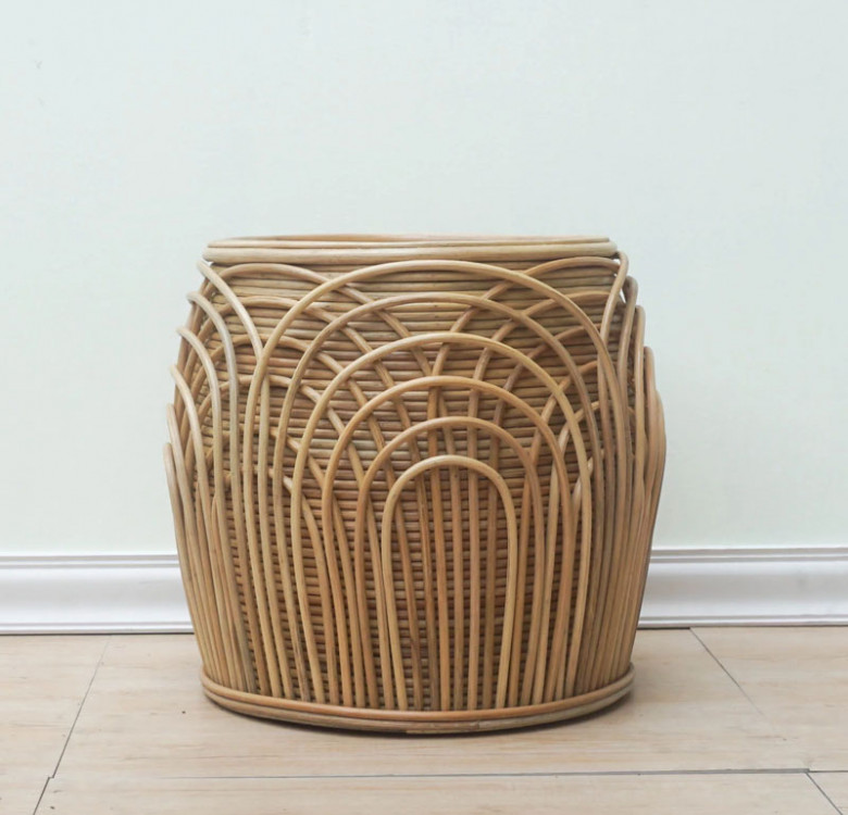 Alon Barrel Stool with Cushion