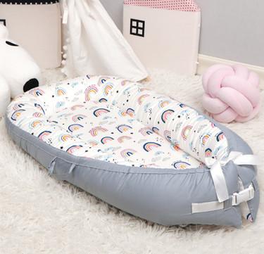 Portable Baby Nest (Scandic Rainbow)