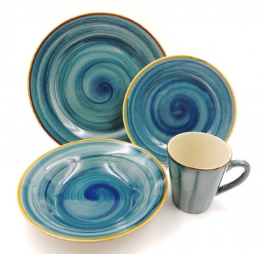 16-Piece Pacific Dinnerware Set