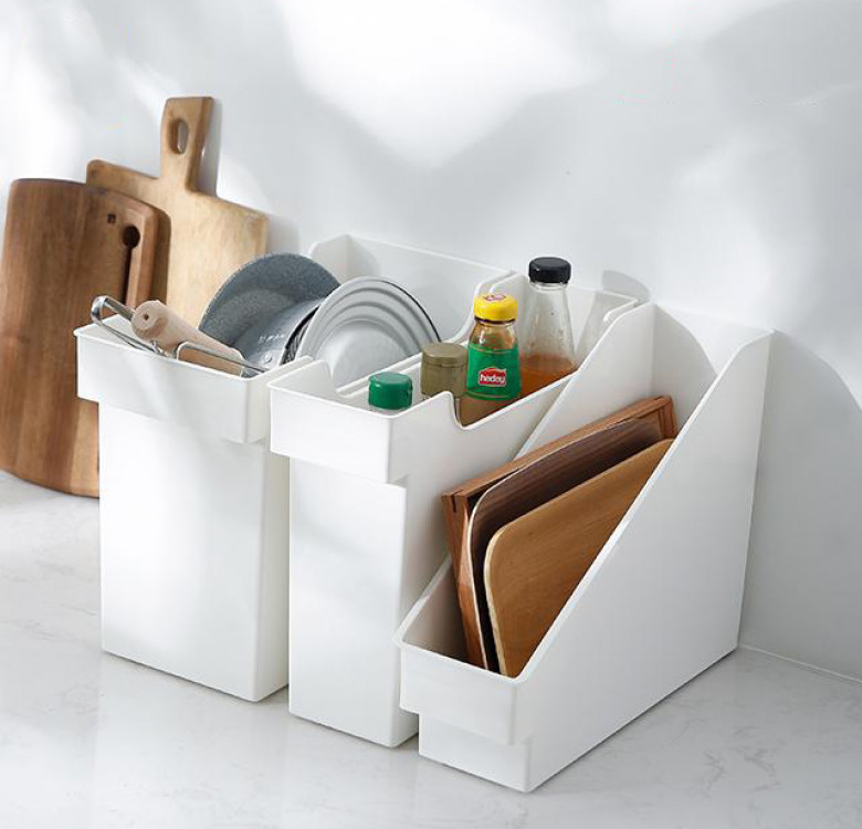 Shimoyama Inclined Type Kitchen Box with Wheel