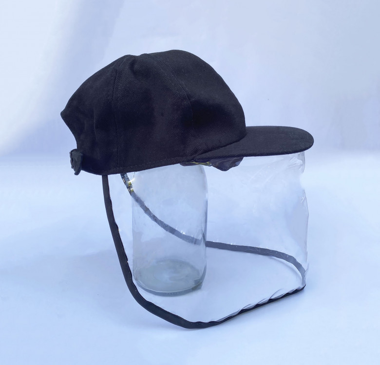 Kids Baseball Cap with Face Shield