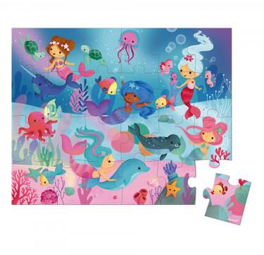 Hat Boxed Puzzle Mermaids 24 pieces